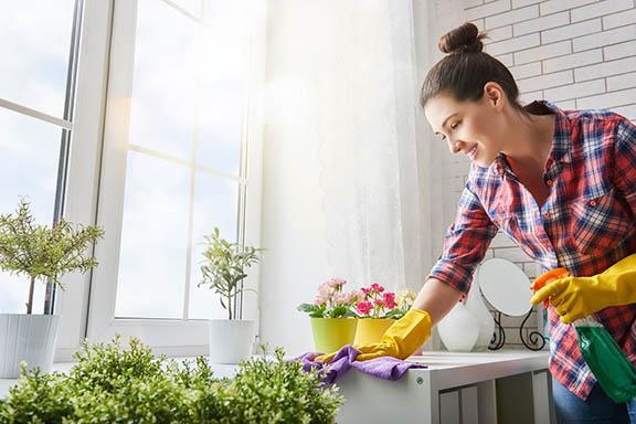 Utrzymanie czystości w domu